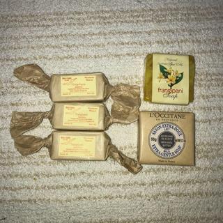 ロクシタン(L'OCCITANE)のロクシタン化粧石けん & バリ島石けんセット(ボディソープ / 石鹸)