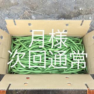 鹿児島産甘サヤインゲン2キロ^_^次回通常(野菜)