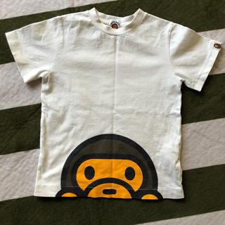 アベイシングエイプ(A BATHING APE)のシャツ110センチ(Tシャツ/カットソー)