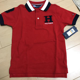 TOMMY HILFIGER - 値下げ【新品 未使用】ポロシャツ トミーヒルフィガー 3T tommy