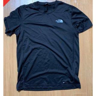 ザノースフェイス(THE NORTH FACE)のUSAモデル ノースフェイス シンプルロゴスポーツTシャツ USサイズS(Tシャツ/カットソー(半袖/袖なし))