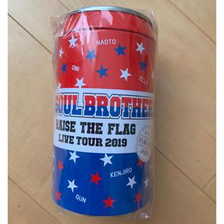 三代目 J Soul Brothers - 三代目 バンダナ缶 会場限定 福岡限定 新品未開封
