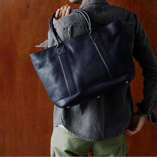 土屋鞄製造所 - 新品同様 土屋鞄 ラージストックトート  レザートート 本革 日本製