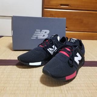 New Balance - 【超美品】ニューバランス MRL247BC ブラック☓レッド 25.0cm