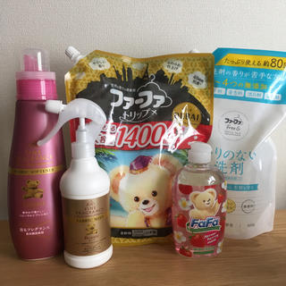 ファーファー(fur fur)のMAO様専用  洗剤 柔軟剤  ファブリックミスト  ファーファまとめ売り(洗剤/柔軟剤)