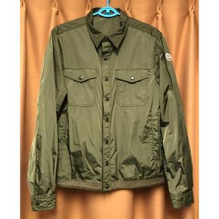 モンクレール(MONCLER)のMONCLER TRIONPHE 2 シャツジャケット ナイロン モンクレール(ナイロンジャケット)