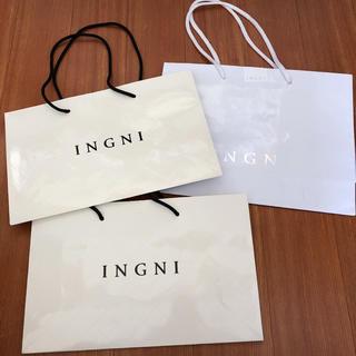 イング(INGNI)のINGNI イング ショップ袋 3点まとめ売り(ショップ袋)