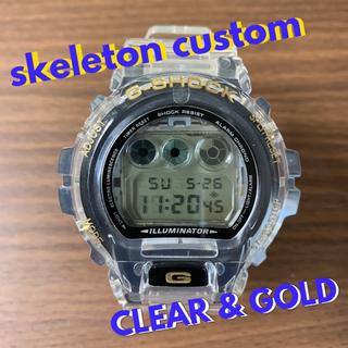 ジーショック(G-SHOCK)のG-SHOCK DW-6900 Gショック クリアーカスタム(腕時計(デジタル))