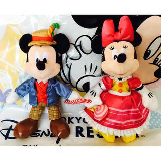 Disney - ディズニー ランド 36周年 ミッキー ぬいぐるみ バッジ ぬいば イースター