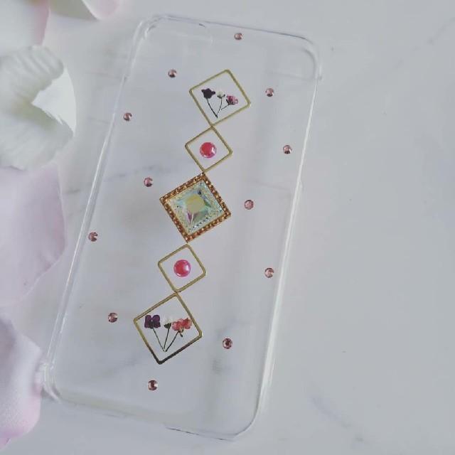 グッチ Galaxy S6 ケース 財布 、 iPhoneケース ハンドメイド アリッサムの押し花の通販 by RSI's shop|ラクマ