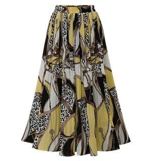 【即購入OK】大きいサイズ ロングスカート(ロングスカート)