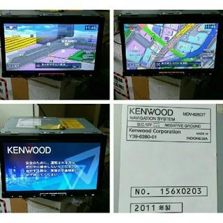 ケンウッド(KENWOOD)のKENWOOD 2011年製 地上デジタル/SD/DVD/録音/USB/MST(カーナビ/カーテレビ)