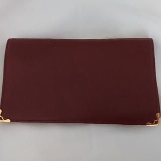 a575cb9ec712 カルティエ(Cartier)の【Cartier】 マストライン ヴィンテージ 長財布 ボルドー&ゴールド