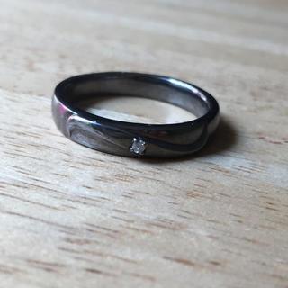 天然ダイヤモンドのリング(リング(指輪))