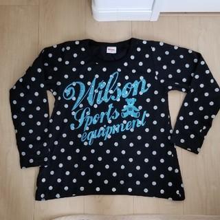 ウィルソン(wilson)のAライン ロンT 女の子140(Tシャツ/カットソー)