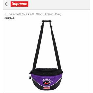 シュプリーム(Supreme)のSupreme®/Nike® Shoulder Bag Purple ナイキ(ウエストポーチ)