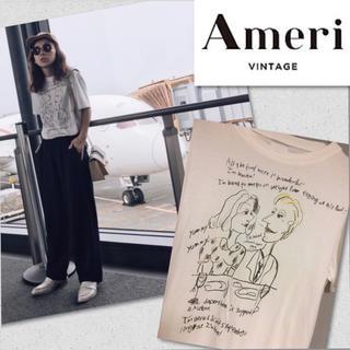 アメリヴィンテージ(Ameri VINTAGE)の❤︎アメリヴィンテージ アート プリント Tシャツ ❤︎(Tシャツ(半袖/袖なし))