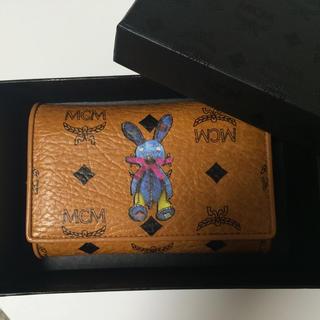 エムシーエム(MCM)の【美品】MCM 二つ折り財布(財布)