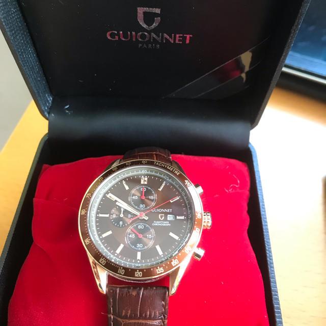 HARRY WINSTON(ハリーウィンストン)の腕時計 GUIONNET PARIS メンズ おしゃれ メンズの時計(腕時計(アナログ))の商品写真
