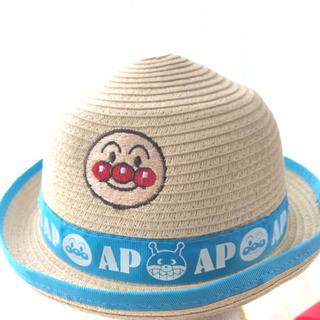 バンダイ(BANDAI)の【新品タグ付き】アンパンマン 麦わら帽子 50センチ(帽子)