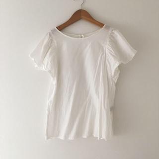 デミルクスビームス(Demi-Luxe BEAMS)のデミルクスビームス  ブラウス 白 ホワイト (シャツ/ブラウス(半袖/袖なし))