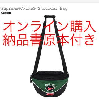 シュプリーム(Supreme)のSupreme®/Nike® Shoulder Bag green(ショルダーバッグ)