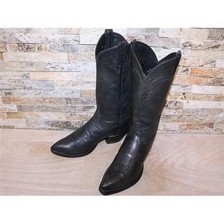 トニーラマ(Tony Lama)のトニーラマ TonyLama シンプルウエスタンブーツ 黒 26,5cm(ブーツ)