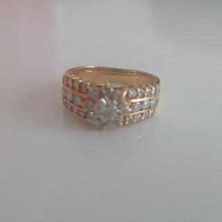 カルティエ(Cartier)の18K ダイヤモンドリング(リング(指輪))
