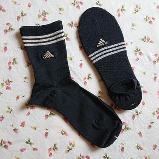 アディダス(adidas)の新品☆adidas(アディダス)☆靴下×2点 セット(ソックス)