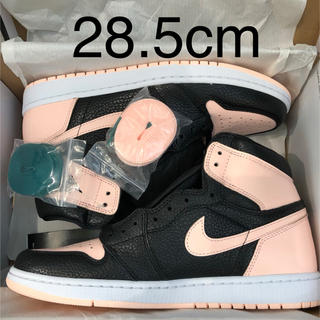 ナイキ(NIKE)の28.5cm AIR JORDAN 1 RETRO HIGH OG PINK(スニーカー)