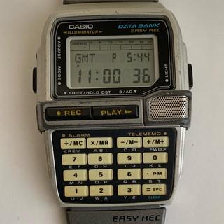 カシオ(CASIO)のカシオ  DATABANK  録音機能付き  レア  レトロ(腕時計(デジタル))