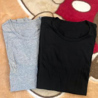 GU - GU  半袖Tシャツ  sizeL 2枚組