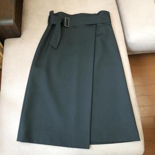 デミルクスビームス(Demi-Luxe BEAMS)のDemi-Luxe ハイウエストスカート(ロングスカート)