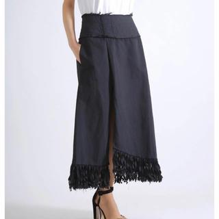 メゾンドリーファー(Maison de Reefur)のLI HUA Fringe Long Skirt(ロングスカート)