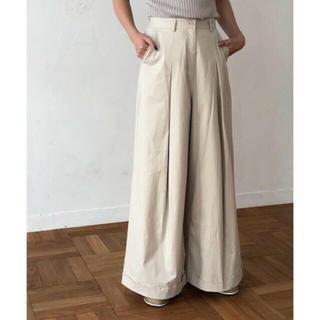 トゥデイフル(TODAYFUL)のTODAYFUL 新作 完売 Box Tuck Pants 38 タックパンツ(カジュアルパンツ)