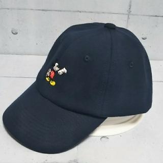 Disney - Mickey キャップ ネイビー