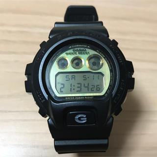 ジーショック(G-SHOCK)の【超美品】CASIO G-SHOCK DW-6900PL ゴールド文字盤 稼働中(腕時計(デジタル))