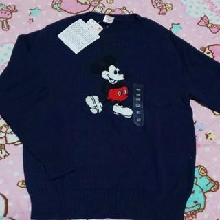 ユニクロ(UNIQLO)の新品・UNIQLO・ミッキー・セーター(ニット)