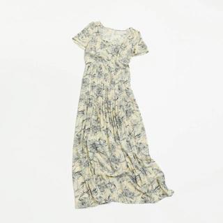 トゥデイフル(TODAYFUL)のTODAYFUL 新作 完売 Georgette Pattern Dress (ロングワンピース/マキシワンピース)