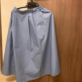 ジーユー(GU)のGU ミモレ丈 スカート(ひざ丈スカート)