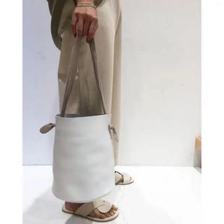 トゥデイフル(TODAYFUL)のTODAYFUL 新作 Leather Basket Bag 新品未開封 バッグ(トートバッグ)