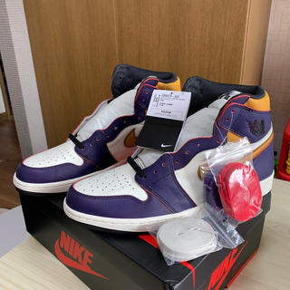 ナイキ(NIKE)のAIR JORDAN 1 RETRO DEFIANT  LA to CICAGO(スニーカー)
