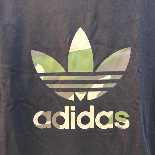 adidas(アディダス)の★新品★アディダスオリジナルス Tシャツ ビンテージ 黒 メンズのトップス(Tシャツ/カットソー(半袖/袖なし))の商品写真