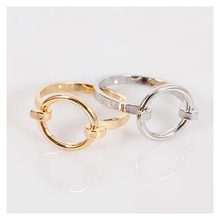 トゥデイフル(TODAYFUL)のサークルフェイスリング 指輪(リング(指輪))
