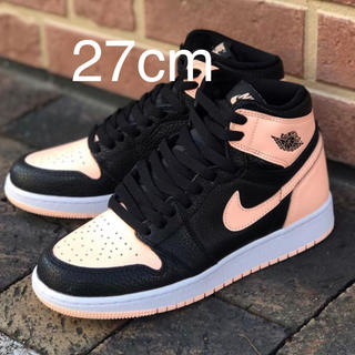 ナイキ(NIKE)の27cm AIR JORDAN 1 RETRO HIGH OG PINK(スニーカー)