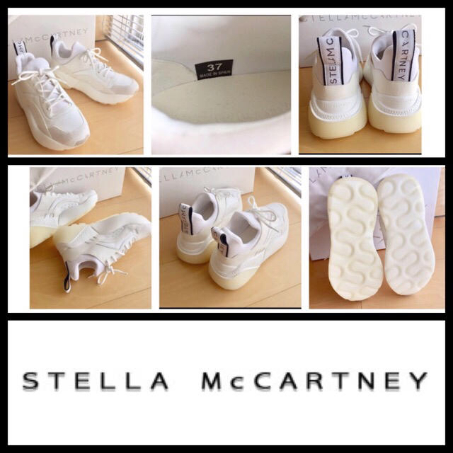Stella McCartney(ステラマッカートニー)のEU37◇ 未使用 STELLA McCARTNEY エクリプス スニーカー レディースの靴/シューズ(スニーカー)の商品写真