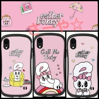 エスターキム iPhoneケース エスターバニー カバー ピンク スマホケース