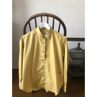 ドゥーズィエムクラス(DEUXIEME CLASSE)の美品  ドゥーズィエムクラス  コットン  シャツ(シャツ/ブラウス(長袖/七分))