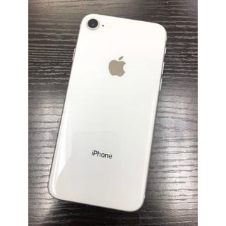 Apple - 【Ki149】美品 iPhone 8  64 GB SIMフリー シルバー