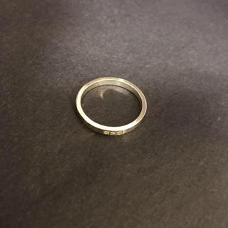 ジャムホームメイドアンドレディメイド(JAM HOME MADE & ready made)のJAM HOME MADE GP silver 2連RING 17号(リング(指輪))